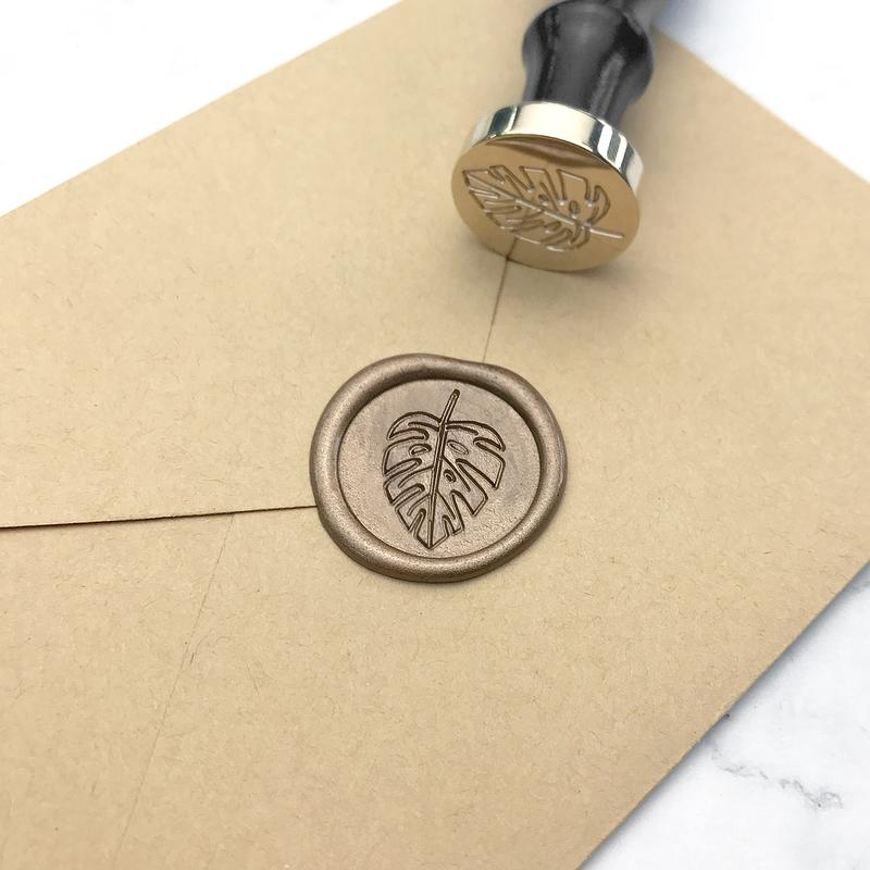 Stamptitude Wax Seal - Monstera