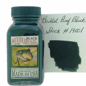 Bullet Proof Black Fountain Pen Ink 89ml (3oz)