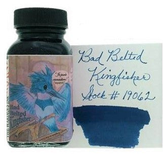 Bad Belted Kingfisher Fountain Pen Ink 89ml (3oz)