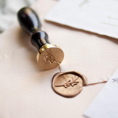 Wax Seal Stamp Olive Branch