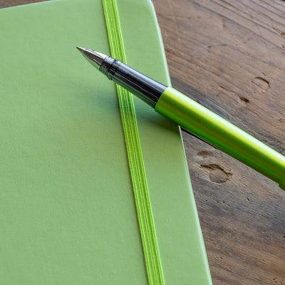 Pilot Explorer Rollerball Pen - Metallic Green