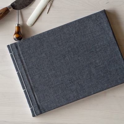 Make your own notebook - Japanese Binding by Michael Bakker - March 14th