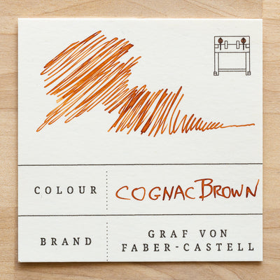 Cognac Brown International Standard Ink Cartridges Colour Swatch
