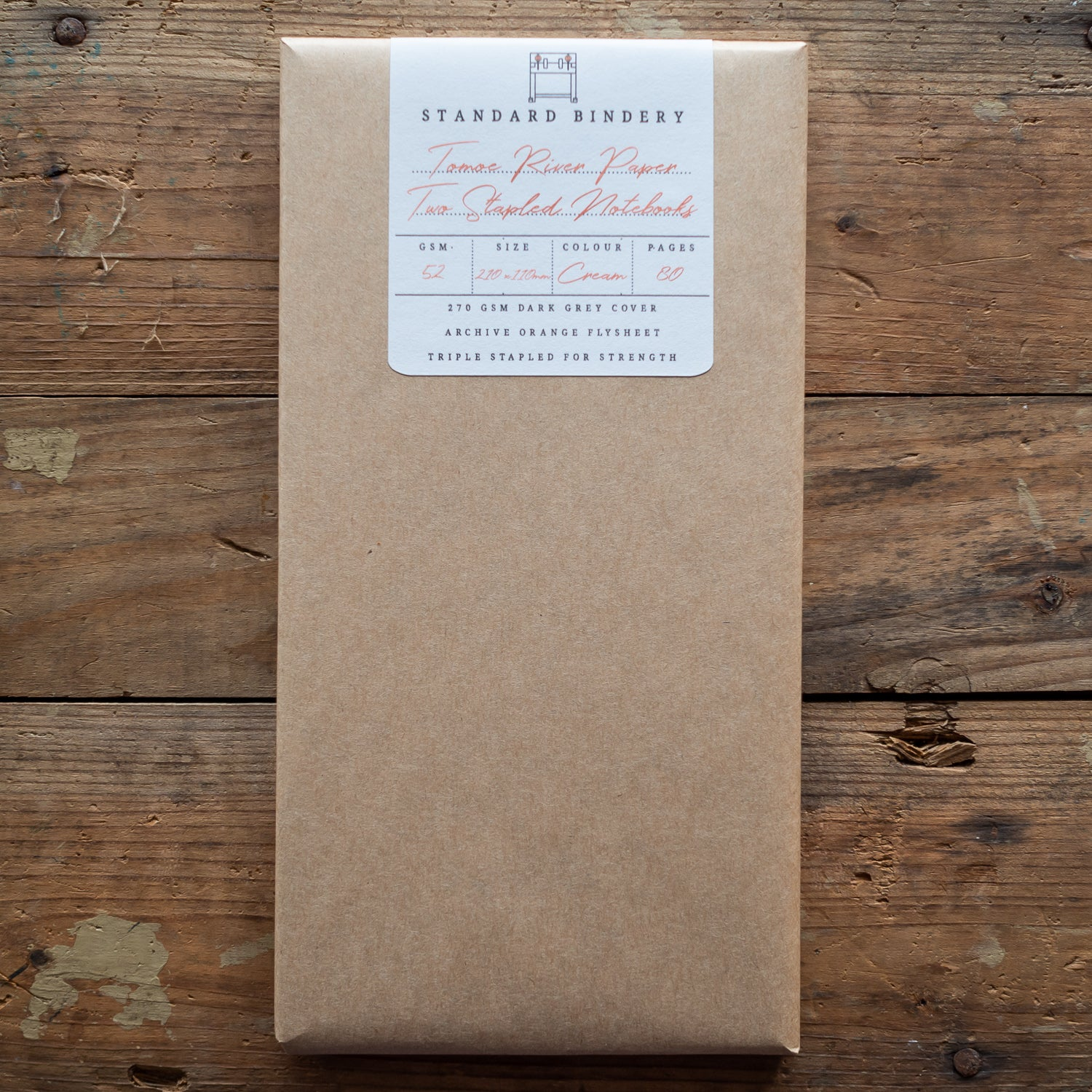 Tomoe River Notebook - 210mm x 110mm - Cream Paper - Pack Of Two