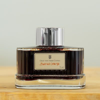 Graf von Faber-Castell Burned Orange - 75ml - Fountain Pen Ink