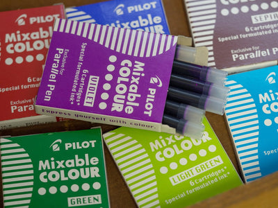 Parallel Mixable Colour Cartridges - 8 colours