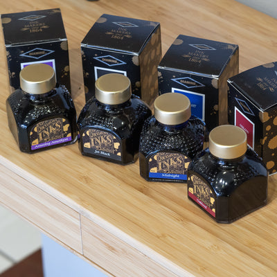 diamine midnight fountain pen ink