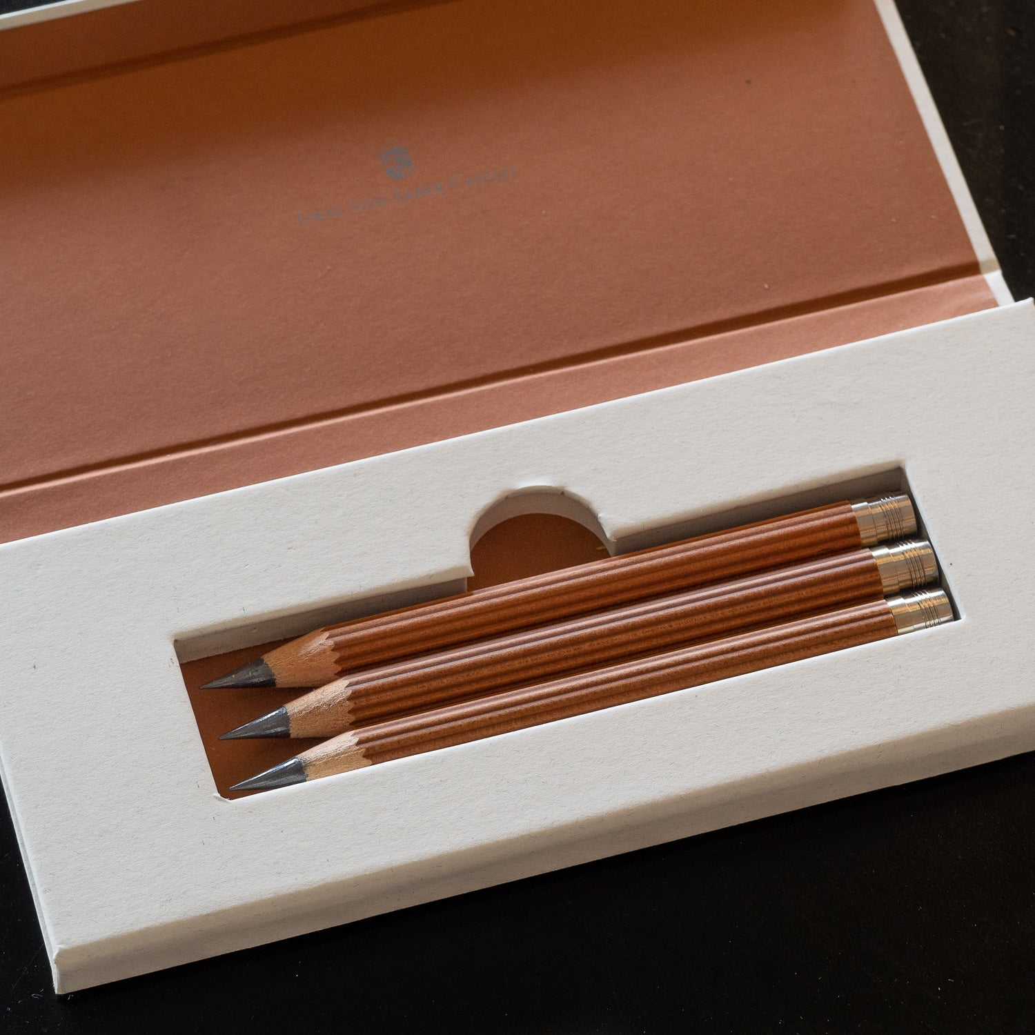 Graf von Faber-Castell Perfect Pencil Magnum Refill Set - Brown
