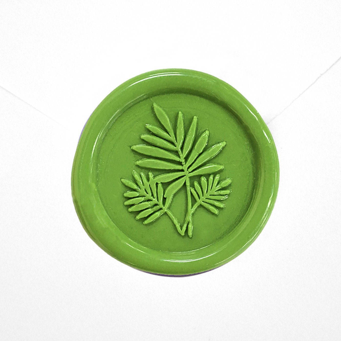 palm leaf wax seal
