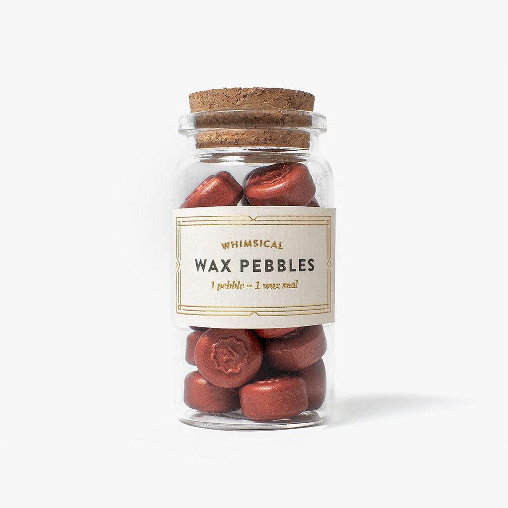 sealing wax pebbles stamptitude terracotta