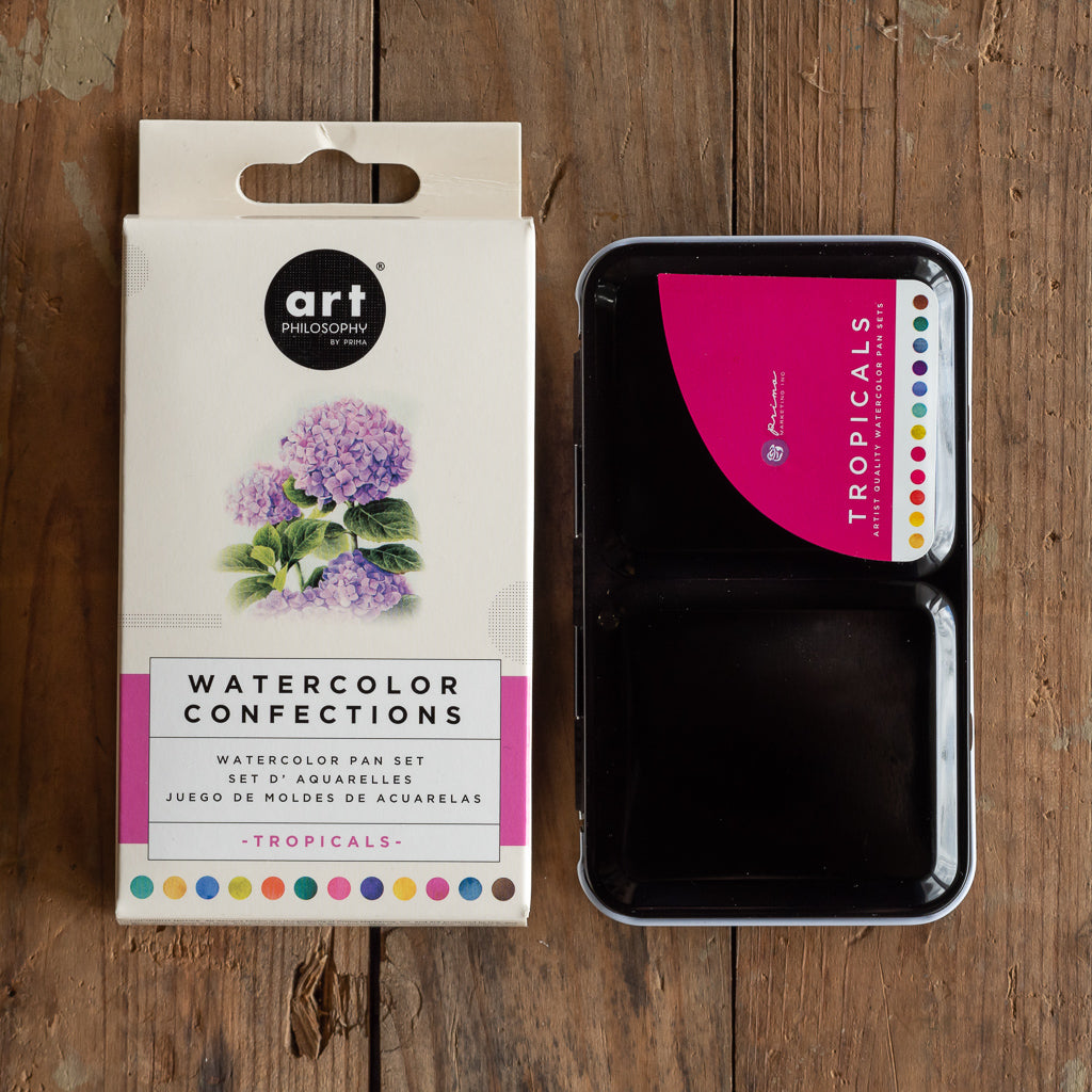 Watercolour Confections Set - Tropicals