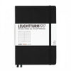leuchtturm 1917 Notebook A5 - Black - Ruled Lines