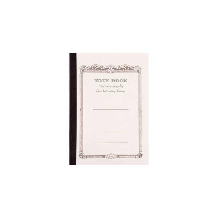 Notebook A7 size CD5 - White - Lined