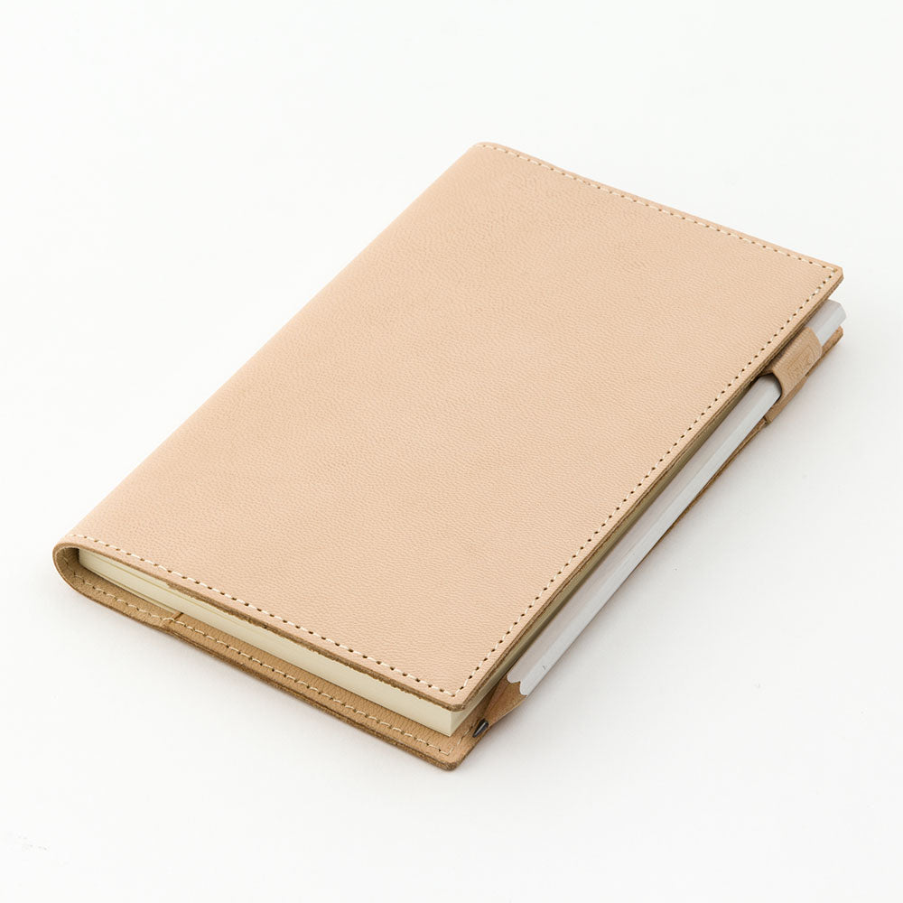 Midori MD Leather Notebook Cover - B6 Slim