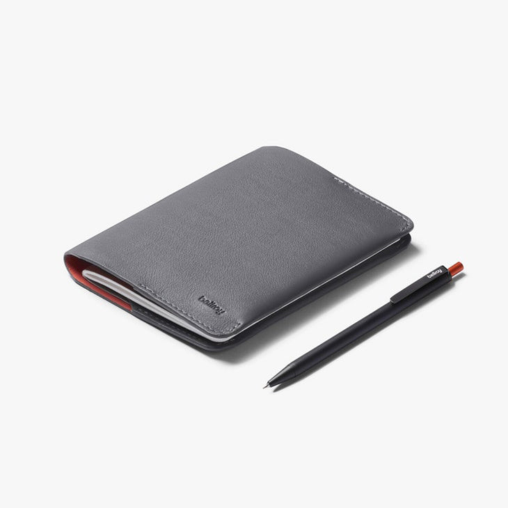 Bellroy Notebook Cover Mini Field Notes Size Graphite + Notetaker Pen