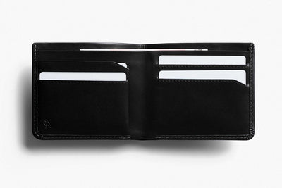 Bellroy The Square Leather Wallet - Black