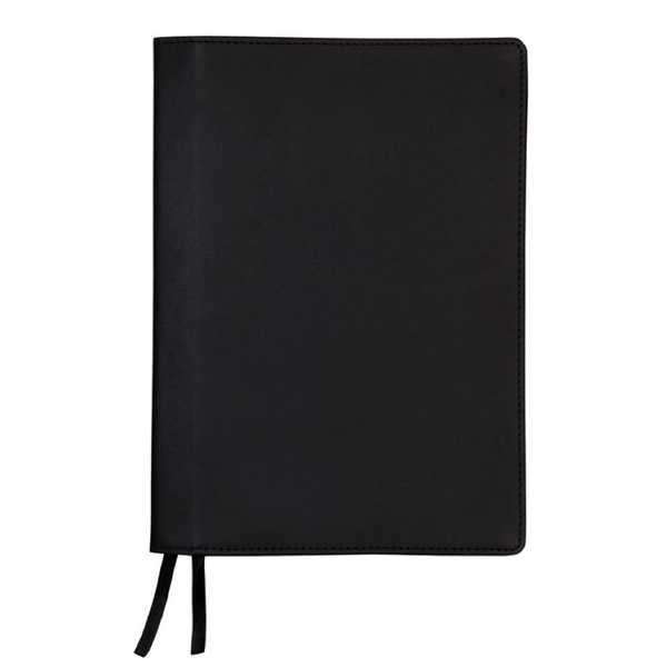 Leather Notebook Cover + Apica Notebook A5 - Black