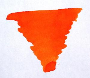 diamine blaze orange fountain pen ink