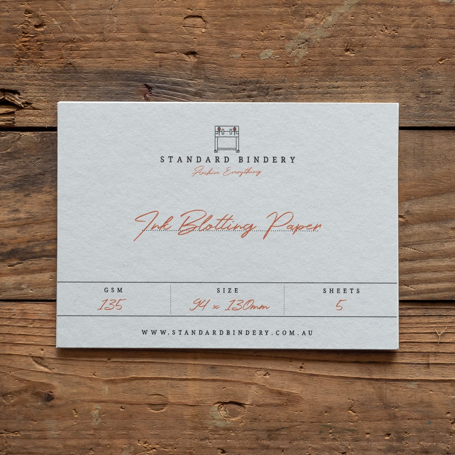 fountain pen blotting paper