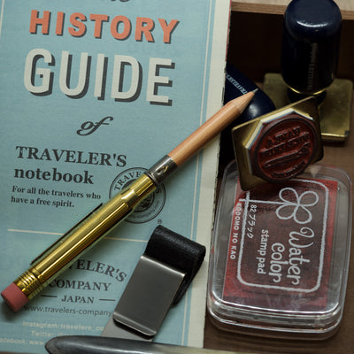 brass bullet pencil travelers notebook