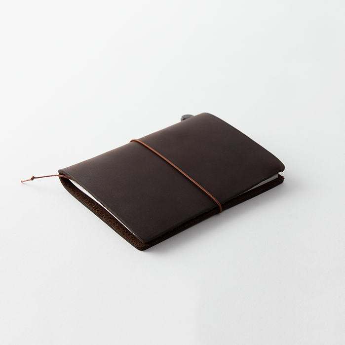 Traveler's Leather Notebook Starter Kit - Brown - Passport