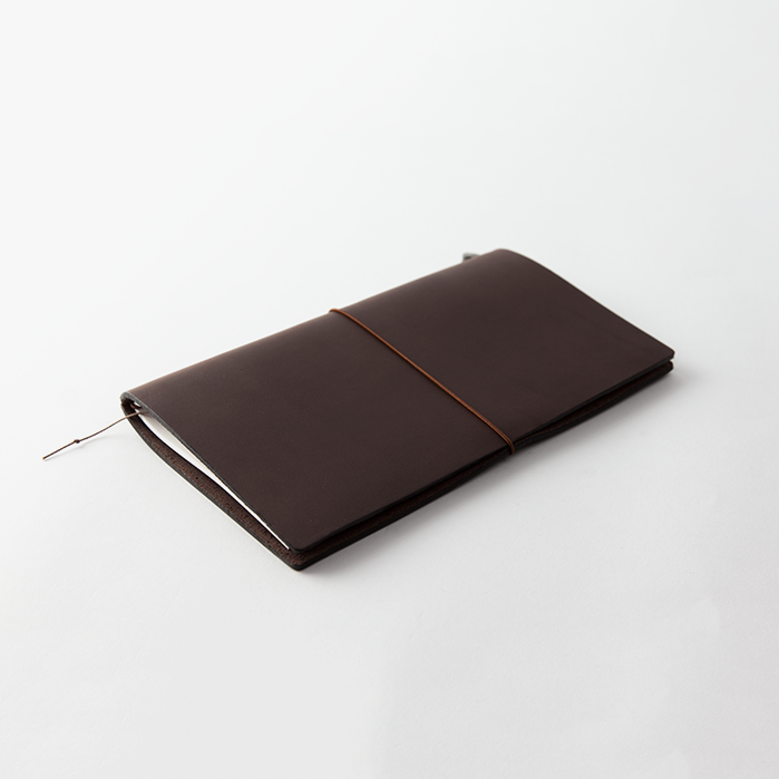 brown regular travelers notebook