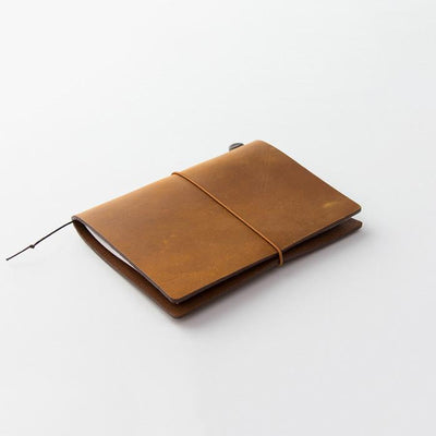 Traveler's Leather Notebook Starter Kit - Camel - Passport
