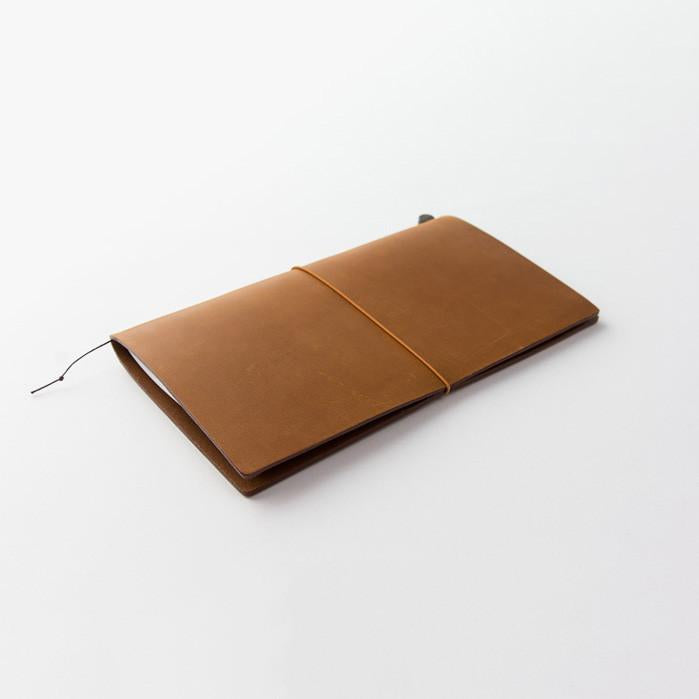 TRAVELER'S Leather Notebook Starter Kit - Camel - Regular