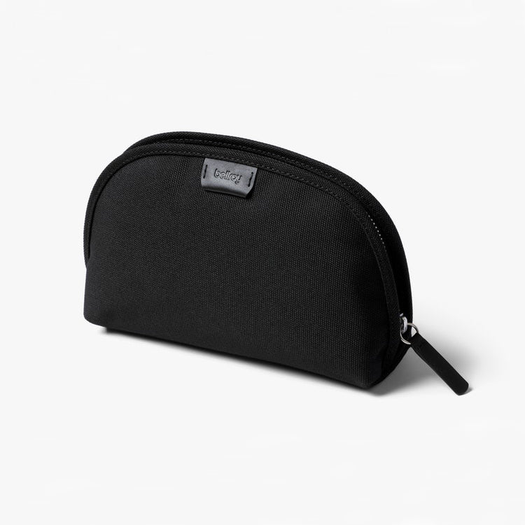 Classic Travel Pouch - Woven - Black