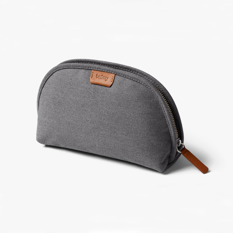 Classic Travel Pouch - Woven - Mid Grey