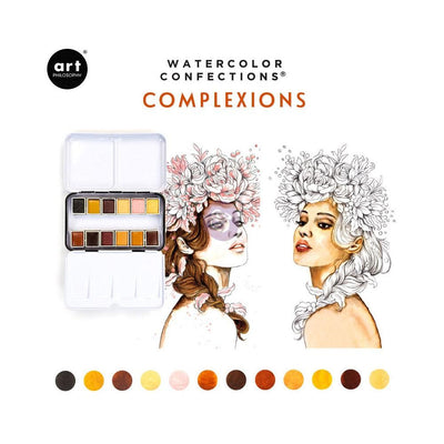 watercolour pan set complexions