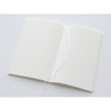 MD Paper Notebook B6 Slim Cotton - Blank Pages