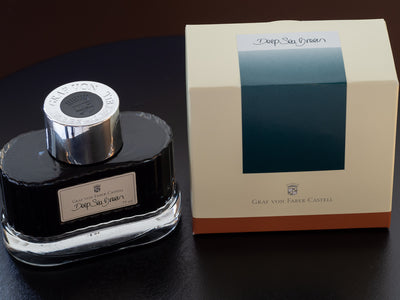 Graf von Faber-Castell Deep Sea Green - 75ml - Fountain Pen Ink