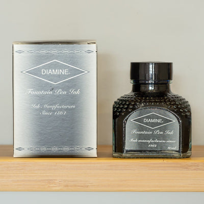 diamine graphite fountain pen ink