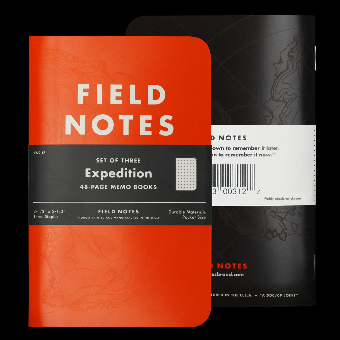 Field Notes Pocket Notebooks Expedition Edition