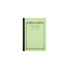 Apica Notebook A7 size CD5 - Green - Lined