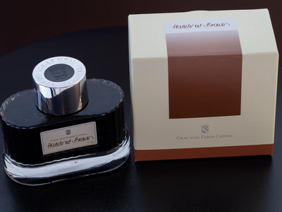 Graf von Faber-Castell Hazelnut Brown - 75ml - Fountain Pen Ink