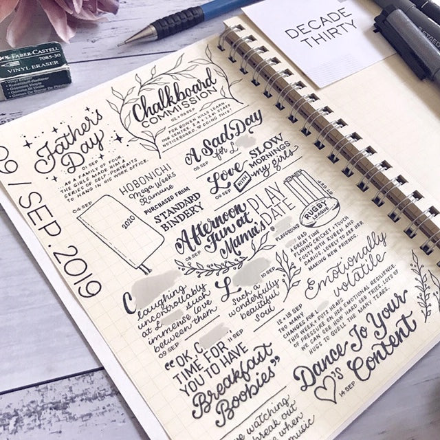Handlettering for Journals and Planners Workshop with Dee Quine - April 19