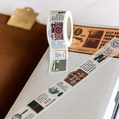 Travelers Notebook Masking Tape - Travel Tools