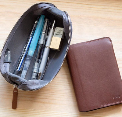 Bellroy Pencil Case - Woven - Mid Grey