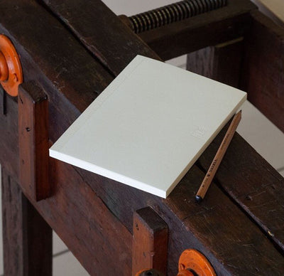 MD Paper Notebook A5 Cotton - Blank Pages