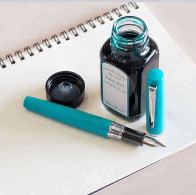 Platinum Procyon Fountain Pen - Turquoise Blue