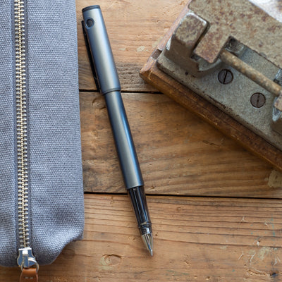 bellroy mid grey pencil case