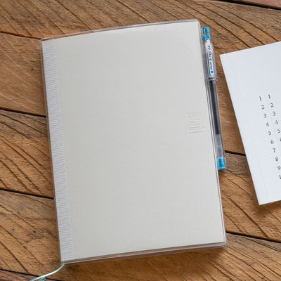 Midori MD Clear Vinyl Notebook Cover