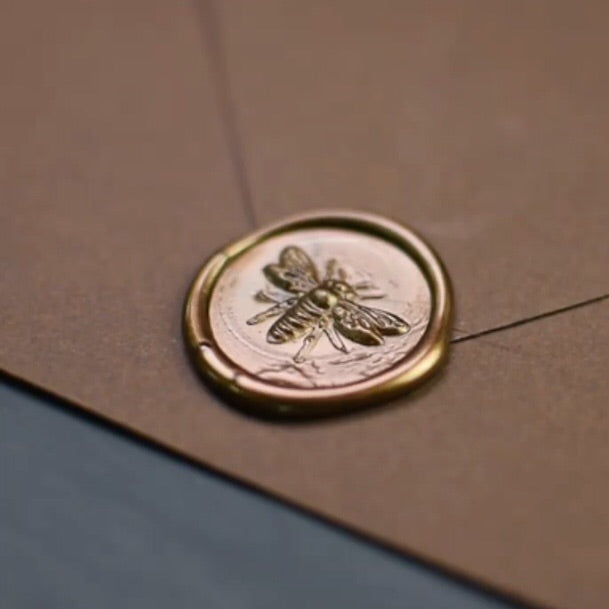 Wax Seal - 3D Bee