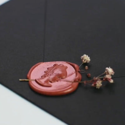 sealing wax terracotta