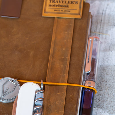 brass ruler travelers notebook