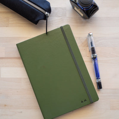 Leuchtturm Notebook A5 - Army - Ruled Lines