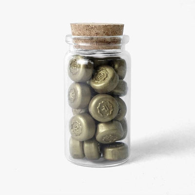 Sealing Wax Pebbles - Olive