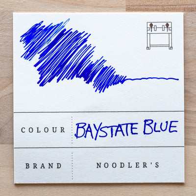 noodlers baystate blue fountain pen ink australia